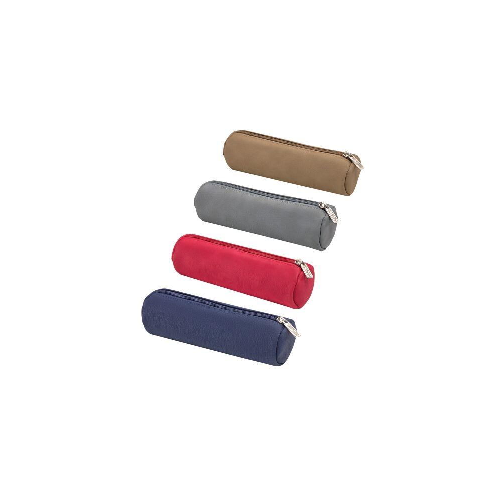 Tolltartó hengeres bőr többszínű
