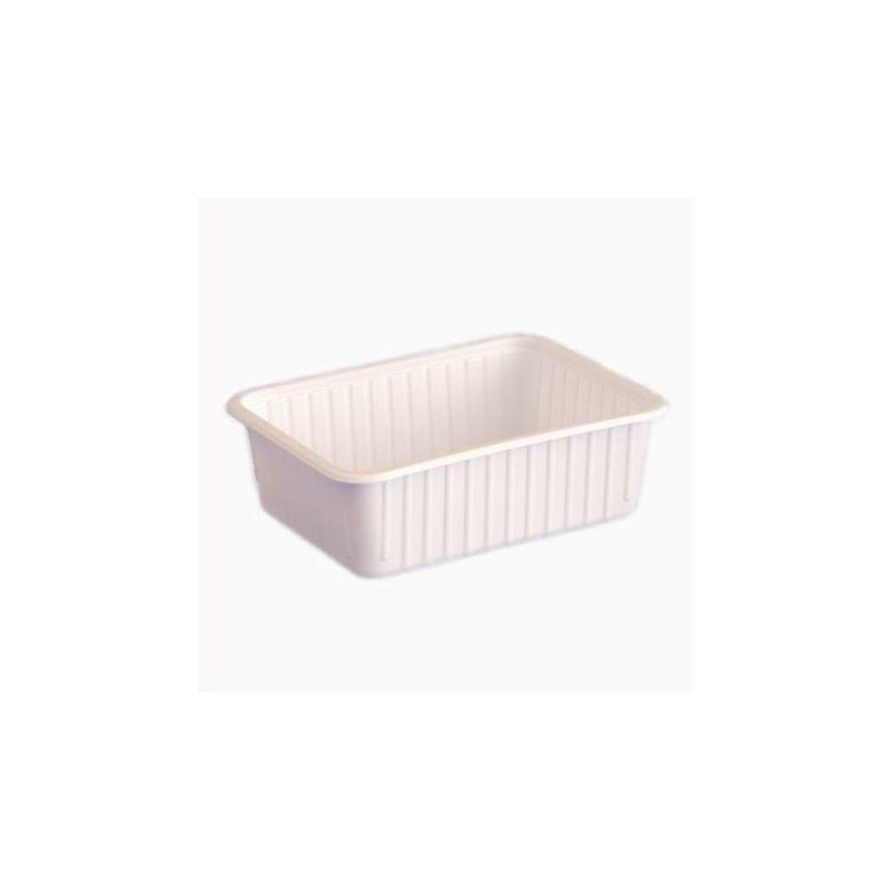 750 ml-es szögletes doboz fehér