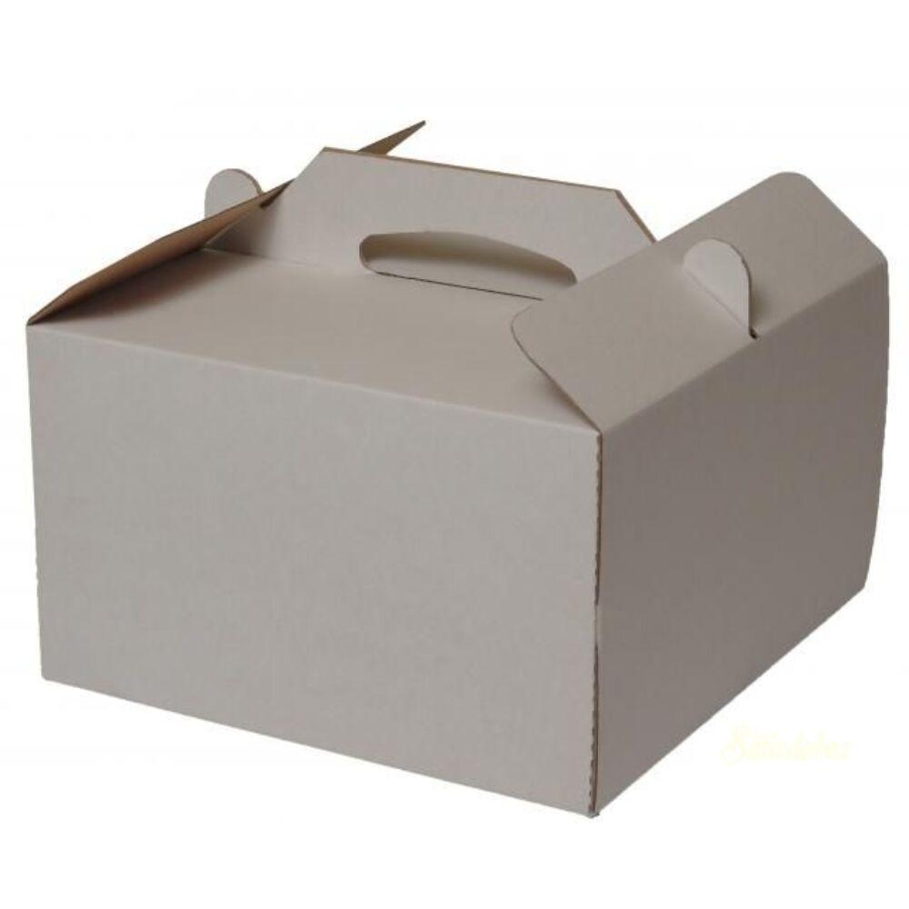Tortadoboz füles papír 320x320x150mm