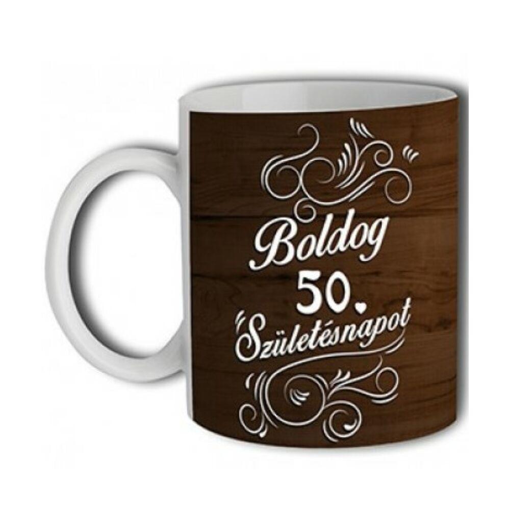 Boldog 50. Születésnapot