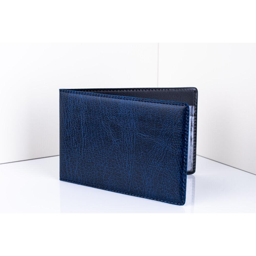 11070-3 Kék Bőr Design