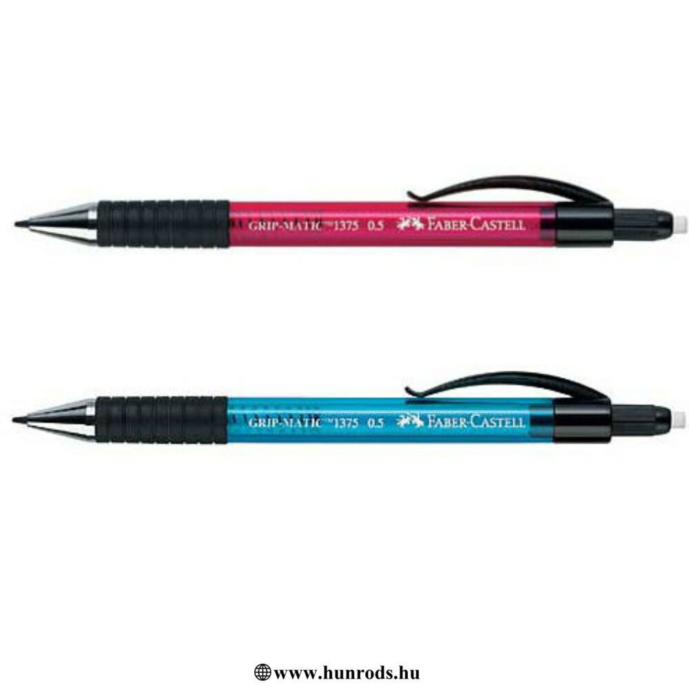 Faber Castel Grip-Matic töltőceruza 0,5 pink,kék,zöld