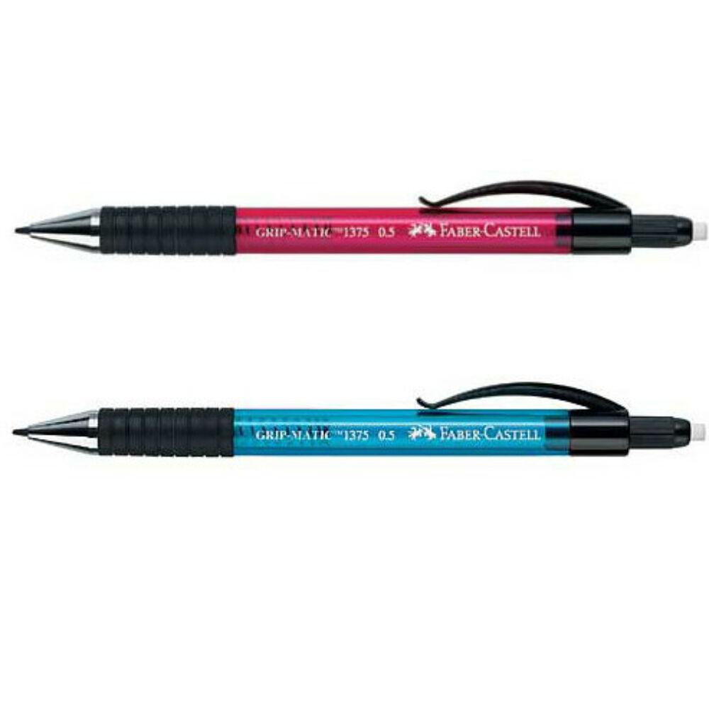 Faber Castel Grip-Matic töltőceruza 0,7 pink,kék,zöld