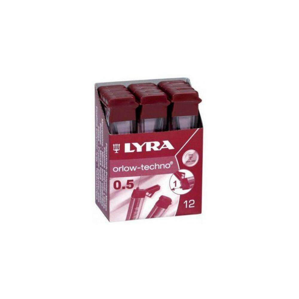 Lyra pixbél 0,5mm 4H,3H,2H,H,F,HB,B,2B