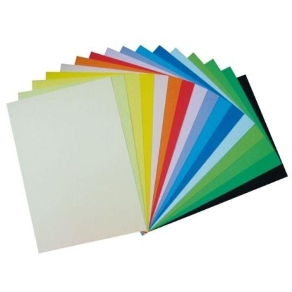 Színes karton A4 160gr. 10 db/cs vegyesen  vagy egyszín