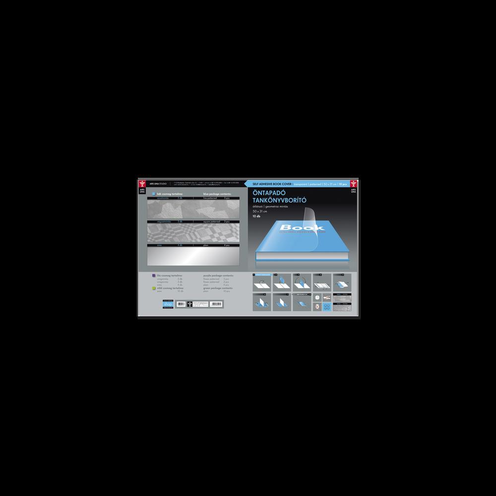 Ars Una öntapadós tankönyvborító  A4 méret 50X33 cm