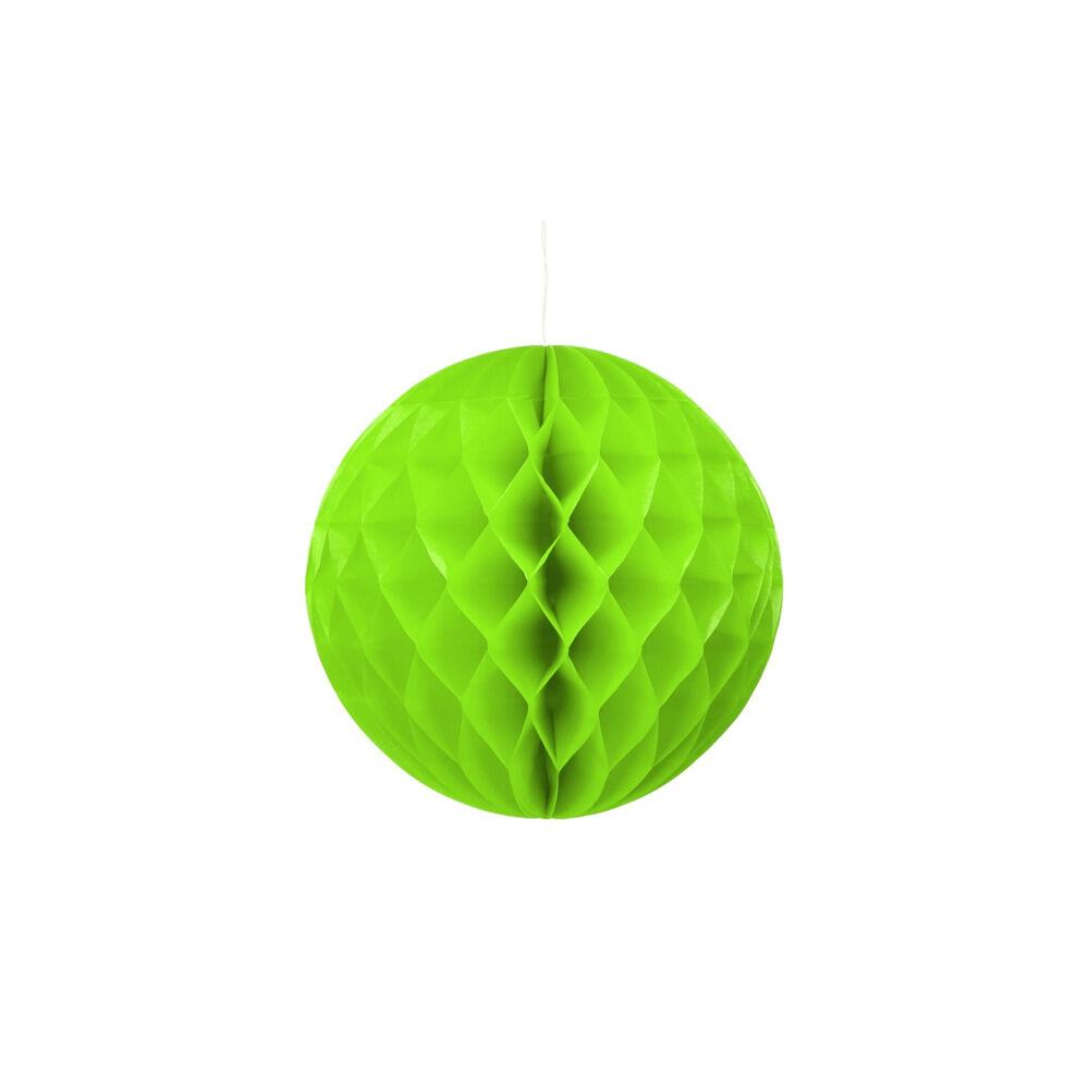 Lampion gömb vegyes színekben 30cm