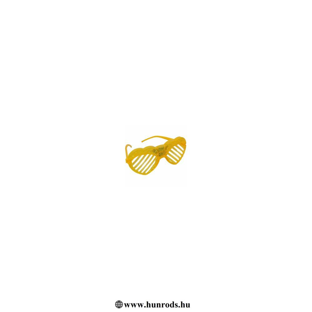 Világító  figurás szemüveg