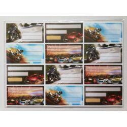 Kép 3/10 - Füzetcimke mintás 12 db-os