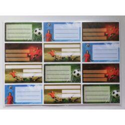 Kép 6/10 - Füzetcimke mintás 12 db-os