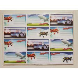 Kép 7/10 - Füzetcimke mintás 12 db-os
