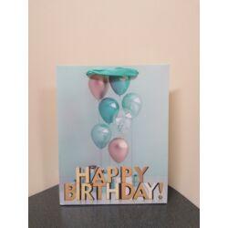 Kép 2/4 - Dísztasak születésnapra közepes méretű 23x18x7,5 cm