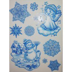 Kép 1/2 - Karácsonyi ablakmatrica 481