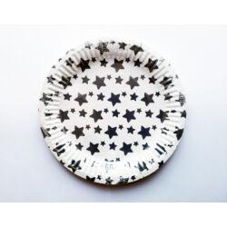 Kép 3/3 - Papírtányér party csillag mintával