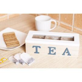 Fa teafilter tartó