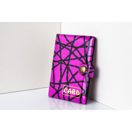 11057-4 Rózsaszín-Fekete Design