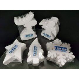 Polisztirol szarvas 5 darab/csomag