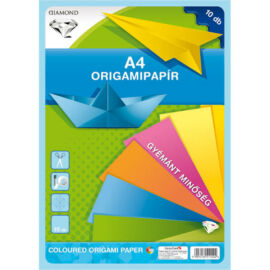 Origami papír A4 gyémánt