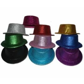 Glitteres Lapos kalap