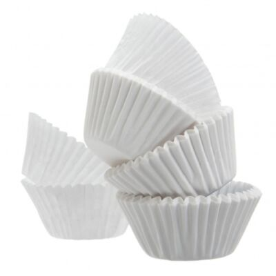 Muffinpapír 11cm,50 db fehér