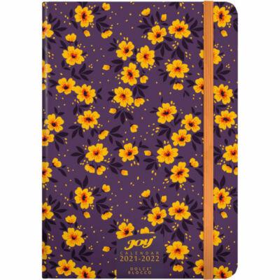 Dolce Blocco JOY Calendar heti tervező 2022 Tiny Flowers B6