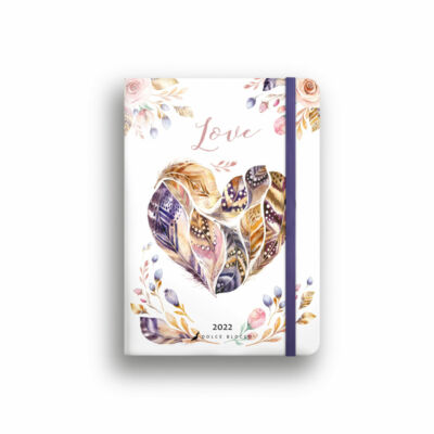 Dolce Blocco Secret Calendar heti tervező 2022 Love B6