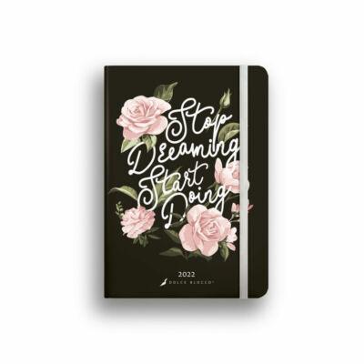 Dolce Blocco Secret Diary napi tervező 2022 Start Doing B6