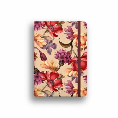 Dolce Blocco Secret Diary napi tervező 2022 Velvet Blossoms B6