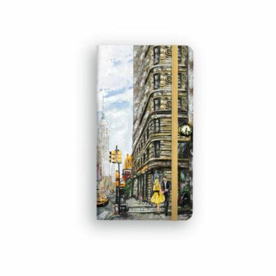 Dolce Blocco Secret Pocket Planner heti tervező 2022 New York