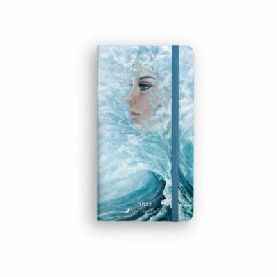 Dolce Blocco Secret Pocket Planner heti tervező 2022 Queen of the Sea