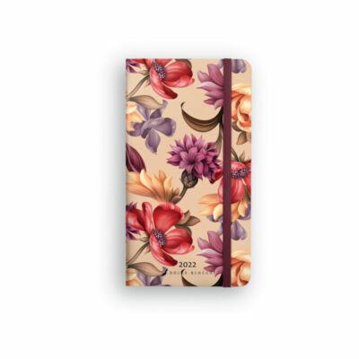 Dolce Blocco Secret Pocket Planner 2022 Velvet Blossoms
