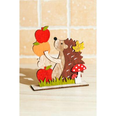 Sündisznó almával fa őszi dekoráció SFT798475