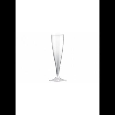 Pezsgős  pohár 100ml-es+ talp