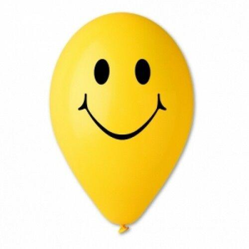Lufi sárga SMILEY 30 cm