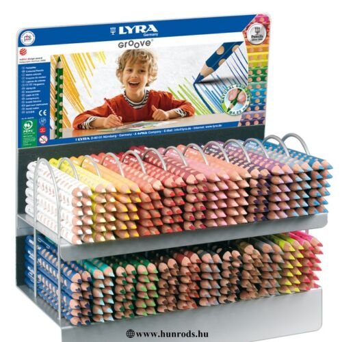 Lyra groove slim színesceruza 480 db + ingyenes állvány