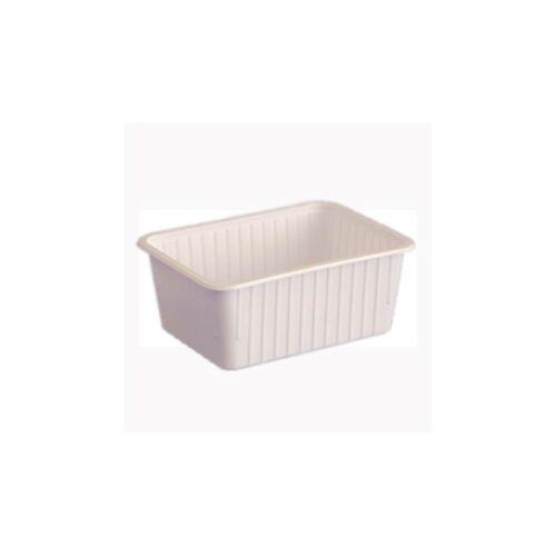 1200 ml-es szögletes doboz fehér