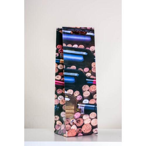 Parafadugók boros üvegekkel