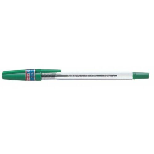 Zebra kupakos golyóstoll zöld N5200