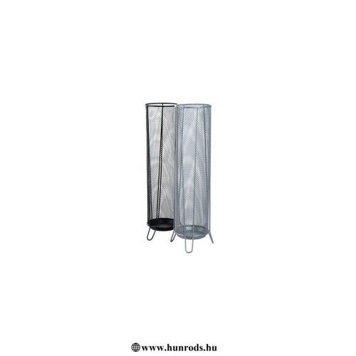 Esernyőtartó, fémhálós, VICTORIA, ezüst