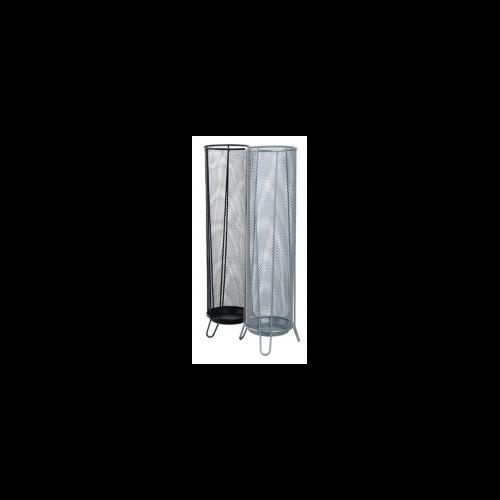 Esernyőtartó, fémhálós, VICTORIA, fekete