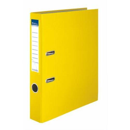 "Iratrendező, 50 mm, A4, PP/karton, VICTORIA, ""Basic"", sárga"