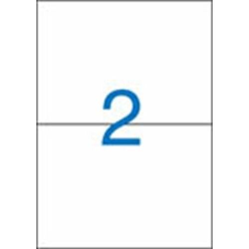 Etikett, univerzális, 210x148 mm, VICTORIA, 200 etikett/csomag