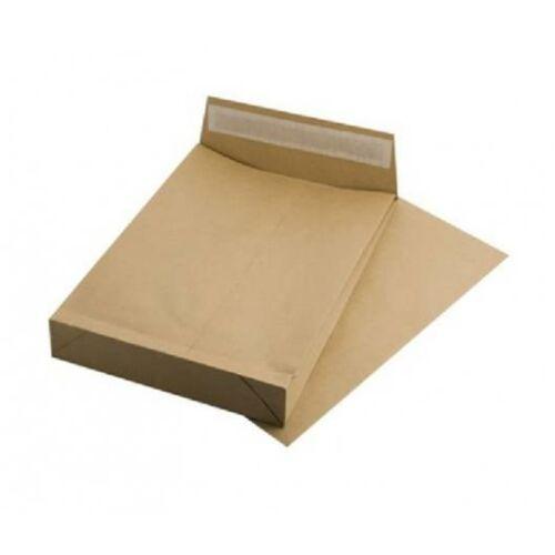 Redős-talpas tasak, TB4, szilikonos, 40 mm talp, VICTORIA, barna kraft