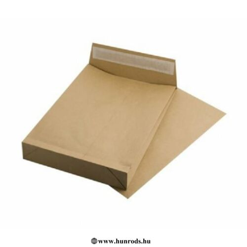 Redős-talpas tasak, TB4, szilikonos, 50 mm talp, VICTORIA, barna kraft