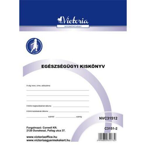 """Nyomtatvány, egészségügyi kiskönyv, A6, VICTORIA """"C.3151-2"""""""