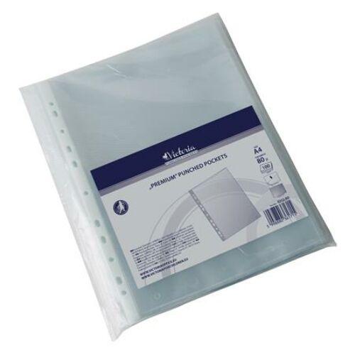 Genotherm, lefűzhető, A4, 80 mikron, narancsos felület, VICTORIA