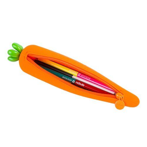 Nebuló tolltartó szilikon Répa