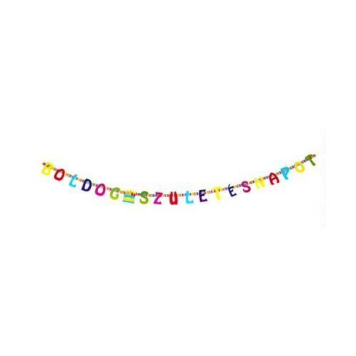 Boldog születésnapot füzér 2 m