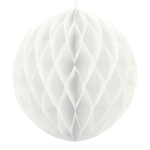 Gömb lampion fehér színben 30 cm-es