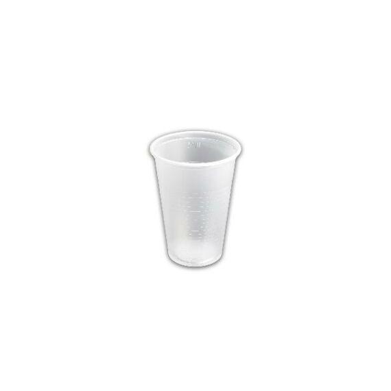 2 dl.-es víztiszta pohár